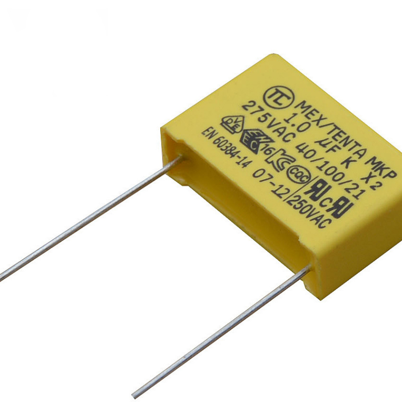 RUOFEI class X2 Film Capacitors 275V safety box capacitor AC mkp x2 capacitor,with various certificates
