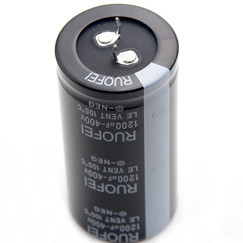 RUOFEI snap-in aluminum electrolytic capacitor 10V~500V long life and high temperature work
